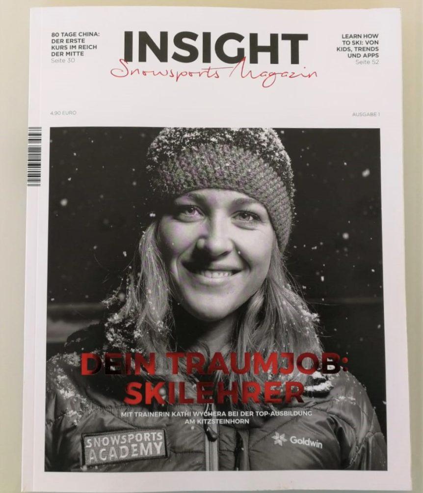 Snowsports Magazin mit Kathrin Wychera Coverstory